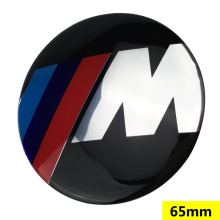 1pcs 56mm 65mm M logo For BMW 1 3 5 7 series X1 X3 X5 X6 E70 E71 F30 Wheel Center Hub Caps wheel Badge covers Auto accessories