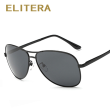 ELITERA Fashion Polarized Sunglasses Original Brand Designer Sun Glasses man women Gafas De Sol Vintage Oculos de sol UV400(China)