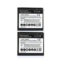 1600mAh Battery For HTC Desire HD 2X Phone Replacement Batteries Fit G10 Inspire 4G Ace BD26100 A9191 T8788 High Quality(China)