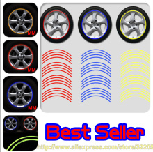 car styling 14-18 inch wheels accessories stickers fit for VW mazda Peugeot BMW Audi Honda toyota ford opel brand sticker on car