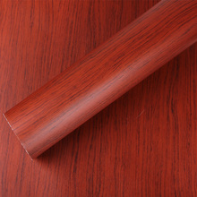Wood grain printing paper wood grain furniture sticker/self adhesive wood grain vinyl film-W1350(China)