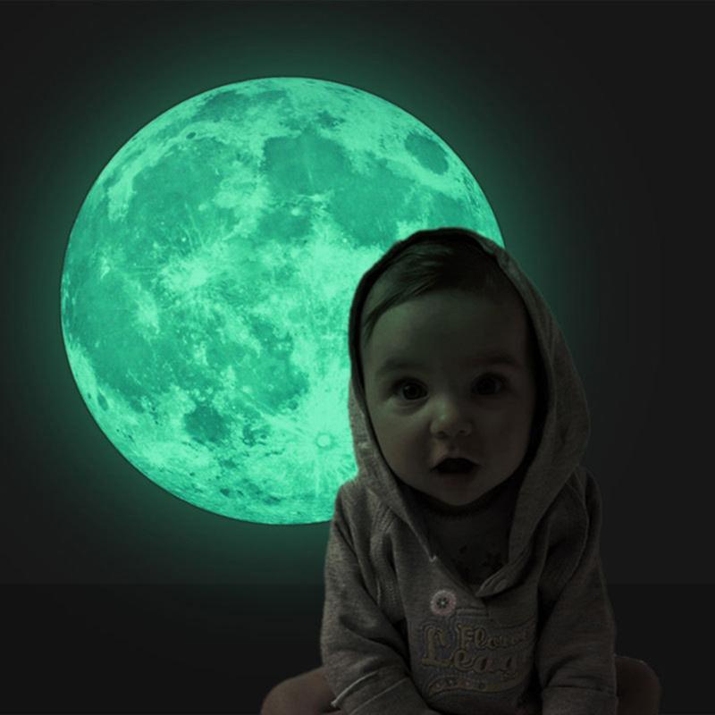 HTB1D8dpiv2H8KJjy1zkq6xr7pXa7 - Glow Star Moon Wall Stickers Luminous Moon Glow in the Dark For Kids Rooms