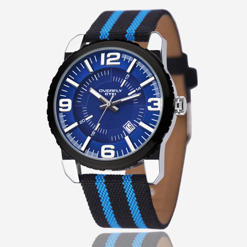 2017 New EYKI Brand Men Quartz Watch Casual Fashion Cancas Strap Waterproof Sports Watches Calendar Watch Wrist Watches Student<br><br>Aliexpress