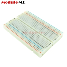 MB102 400 Tie Points Holes Universal Solderless PCB Breadboard Mini Test Protoboard DIY Bread Board For Bus Test Circuit Board(China)