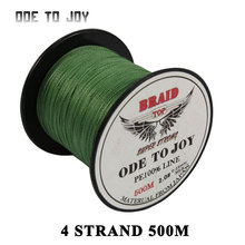 Multifilament Fishing line  4 strand 500M super strong PE Braided Fishing line 10-60 LB PE  fishing line Carp Saltwater braid