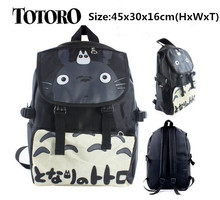 Anime My Neighbor Totoro Travelling Backpack Shoulder School Bag(China)