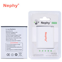 BL219 Original Nephy Battery BL 219 For Lenovo A880 S856 A889 A890E S810T A850+ A916 2500mAh Top Quality Mobile Phone Batteries(China)