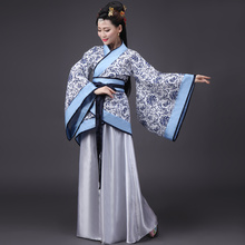 ancient chinese costume women clothing clothes robes traditional beautiful dance costumes han tang dynasty dress china fairy(China)