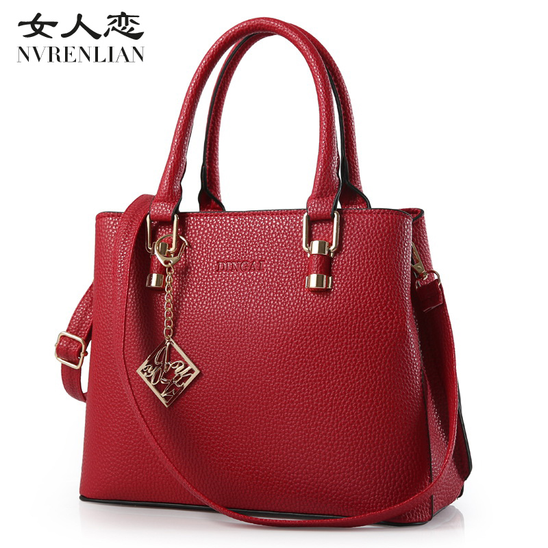 Fashion Women Handbag Female PU Leather Bags Handbags Ladies Large Capacity Shoulder Bag Office Ladies Hobos Bag Totes<br>