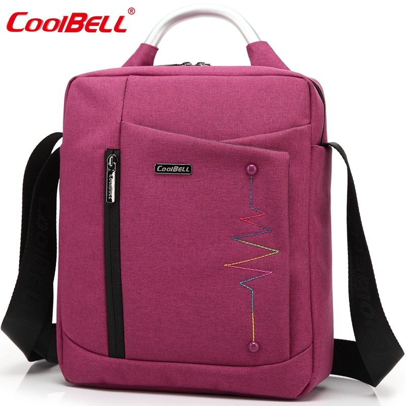 Cool Bell tablet Bag for iPad Air 2 3 iPad Mini iPad 4 Men Women Ultrabook Laptop Bag for 8,10.6,12.4 inch  Briefcase messenger<br><br>Aliexpress
