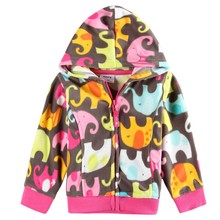 baby girl clothes winter warm long sleeve outerwear kids clothing cotton cartoon jacket coat for girls spring coat F2913