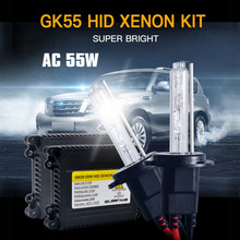 1 Set AC 55W Xenon Lamp H1 H3 H4 H7 H11 9005 9006 881 D2S HID Xenon Kit 4300K 5000k 6000K 8000K Xenon H7 Car Light Bulb