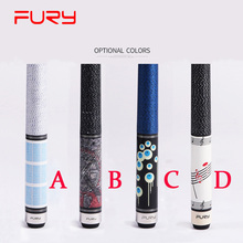 FURY Billiard Pool Cue 12.75mm/11.75mm Tips With Black Pool Cues Case 4 Colors A/B/C/D China(China)