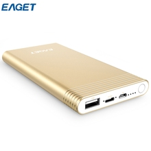 EAGET EQ10 10000mAh QC 3.0 Power Bank with Type-C Input Output Port Aluminum Alloy External Battery Pack