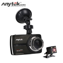 Anytek G66 1080P super full HD ADAS DWR HDR Double lens car dvr Night Vision 160Degree Wide angle car Camera preciselens tech(China)