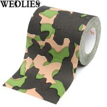 Camouflage Print Novelty Bathroom Toilet Paper Tissue Roll Hunting Party Events Decorative Gadgets Accessories Party Favor Gift