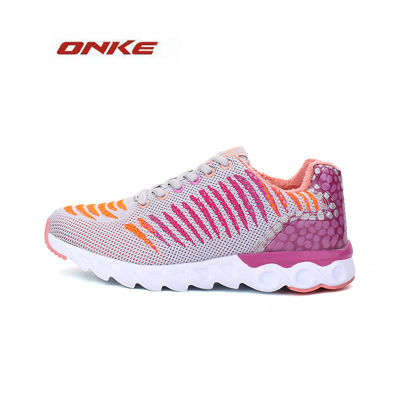 2017 ONKE Women Athletic Sports Running Sneakers Colorfully Lightweight Breathable Summer Spring Shoes Wholesale Price(China (Mainland))