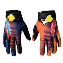Tour de France Cycling Gloves Mtb Bike Gloves Bull Bicycle Moto Motorcycle Gloves Fox Rudis guantes ciclismo prevail evade tld C(China)