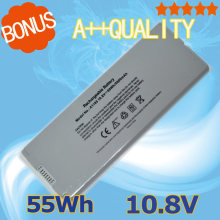 "10.8V 55Wh Silver Laptop  Battery A1185 MA561 A1181 MA561  MA566 For Apple  for macbook 13"" MA699 13"" MA472B/A 13"" MB404X/A"