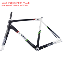 Wilee Carbon Frame Bicycle Carbon Road Frame Internal Cabling carbone Chinese Carbon Frame Road DI2 support