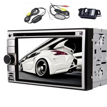 WIN 8 UI 6.2 inch 2 Din In Dash touch Screen Car DVD Player GPS Navigation Stereo AM/FM Radio bluetooth/SD/USB/mp3/ipod+Camera