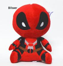 10pcs/lot 20cm Deadpool Stuffed Plush Toy Doll Movie Super Hero New Mutants Soft Figure Toy Wade Winston Wilson X-men(China)
