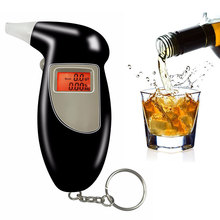 Best Selling KeyChain Alcohol Tester Digital LCD Display Alcohol tester Breathalyzer Factory Drive Safety Business Gift