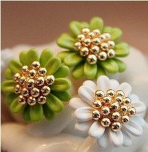 fashion New Hot Exquisite Small Daisy Flower Stud Earrings Jewelry Accessories Wedding For Women Earrings For Women