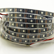 DC5V 1M/3M/5M ws2801 External 2801 ic Individually addressable 5050 smd rgb strip 32leds/m Arduino development ambilight TV(China)