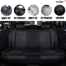 Yuzhe Leather car seat cover For Mazda 3 6 2 C5 CX-5 CX7 323 626 M2 M3 M6 Axela Familia car accessories cushion car-styling