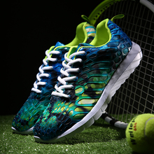 2017 Summer New Men Sports Shoes Feather Colors Comfortable Breathable Light Couple Brand Sneakers Men Running Shoes