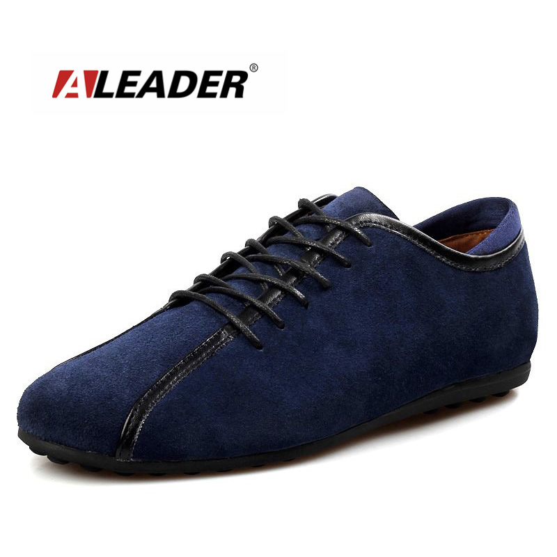 ALEADER New 2017 Suede Leather Men Shoes Winter Warm Casual Shoe Comfortable Flats With Fur Men Driving Loafers sapato masculino<br>