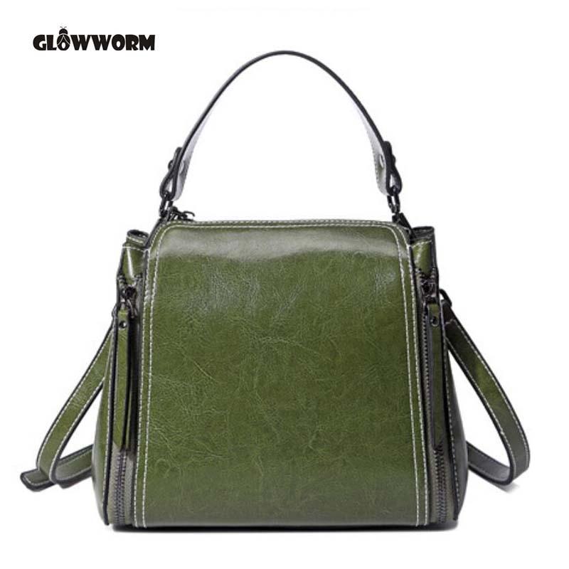 100% Genuine leather Women handbags 2018 new female killer Bag Shoulder Bag Handbag Single Ladies European leather female bag<br>
