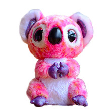 Ty Beanie Boos Original Big Eyes Plush Toy Doll Child Brithday 10 - 15cm Pink Koalas TY Baby For Kids Gifts