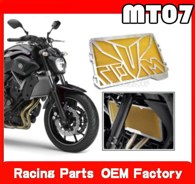 Motorcycle Radiator Grille Cover radiator guard protector grille cover For Yamaha MT 07 MT-07 FZ 07 FZ-07 2013-2016 2014 2015<br>