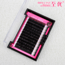 2016 Soft Mink Eyelashes B C J Curl 0.15 thickness  Fake False Lashes High Quality Individual Makeup Eyelash Extention