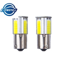 1Pcs Super Bright P21W COB 1156 BA15S Car 4 Led High Power Turn Signal Lights Reverse Lamps Parking Bulbs Backup Tail Lighting