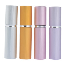 5ml Protable Mini Plastics Spray Bottles Atomizer for Perfume Pump Spray Skin care Container Makeup Tool Refillable Travel use(China)