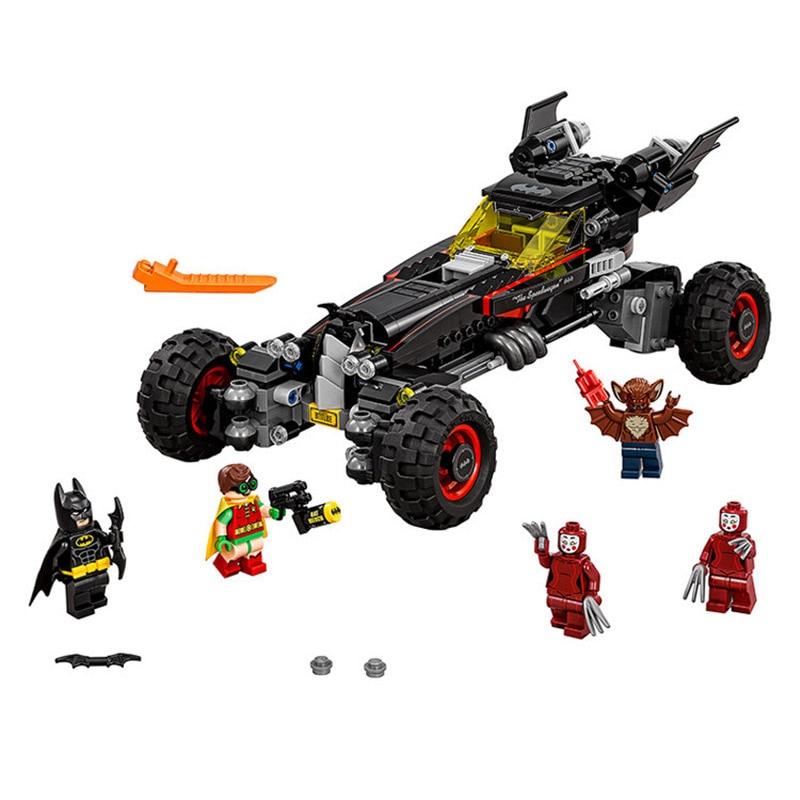 Lepin 70905 Pogo Bela 10634 Batman The Batmobile Super Heroes Marvel Avengers Building Blocks Bricks Compatible legoe Toys<br>
