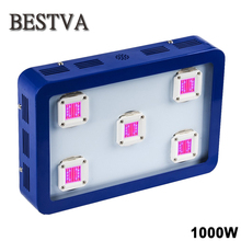 BestVA X5 1000W LED Grow Light ,Newest COB Chips, Full Spectrum best for plant growth and bloom ,High  Yeild!(Blue)