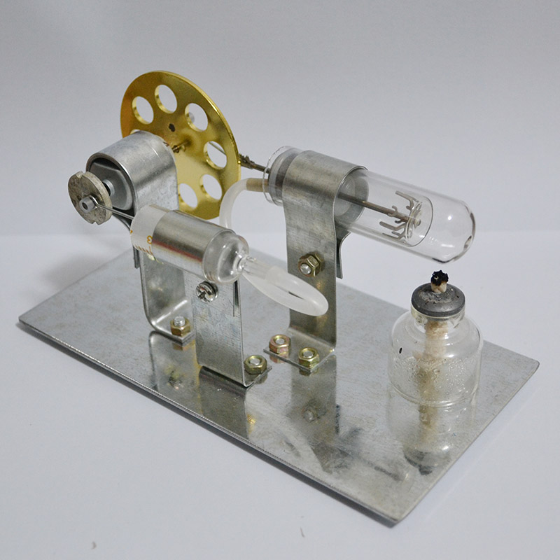 Mini Hot Air Stirling Engine Motor Model Educational Toy Kits best childeen gift Educational Science Toys<br>