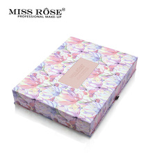 Miss Rose Brand Multicolor Eyeshadow Palette Matte Shimmer Waterproof Natural Eye Shadow Palette Makeup(China)