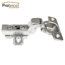 Probrico 1 PCS Soft Close Kitchen Cabinet Hinge CHR073HC Concealed Cupboard Door Hinge Inset Hydraulic Furniture Hinge(China)