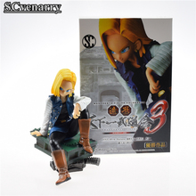 Dragon Ball Z Android 18 Colosseum PVC Action Figures Collection Toy Model Boy Girl Birthday Birthday Gift 10cm