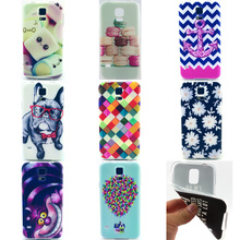 Case For Samsung Galaxy S5 SV Duos S 5 V Neo G900 G900F G900H G900I SM-G900F Cell phone Cover Soft Silicon Ultrathin TPU Housing