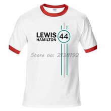 Lewis Hamilton 44 Formula 1 Motor men raglan T-Shirt fashion summer present male pretern tee shirt new tops man(China)