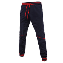 QINGYU Brand Men Pants Hip Hop Harem Joggers Pants 2017 Male Trousers Mens Joggers Solid Pants Sweatpants 4XL
