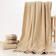 HAKOONA Bath Towel for Adults Bamboo Fabric Size 70x140cm Soft Absorbent Beach Towels In Stock Send Fast Brown White 2 Colors(China)