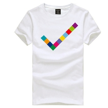 Pet Shop Boys tick design t shirt rock band short sleeve t-shirt Electronic Music tee shirt