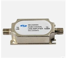 Satellite signal amplifier 2320SA satellite pot amplifier satellite TV signal booster(China)